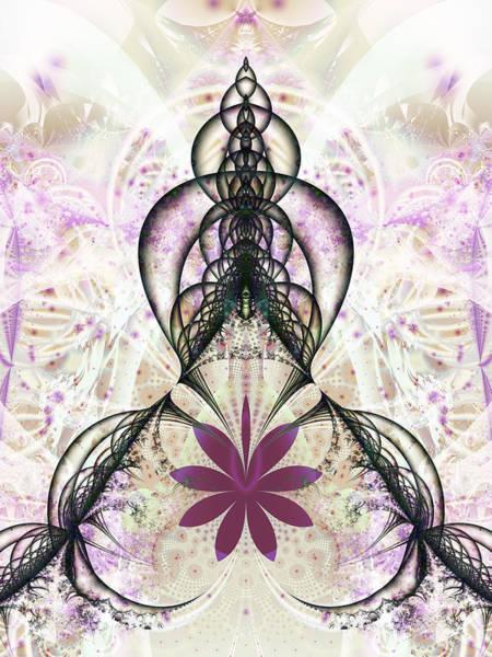 Digital Art - Flower Gate by Frederic Durville