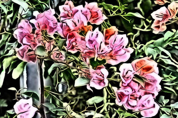 Digital Art - Flower Painting 0003 by Metro DC Photography