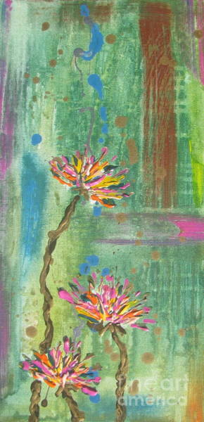 Painting - Flowers 1 by Jacqueline Athmann