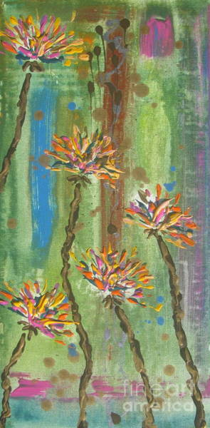 Painting - Flowers 2 by Jacqueline Athmann