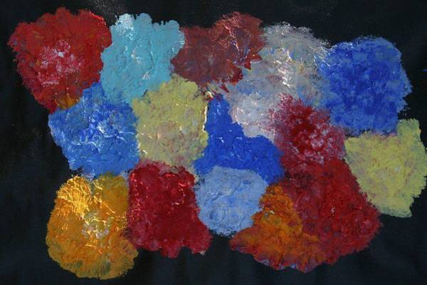 James Johnson Wall Art - Painting - Flowers 2 by James Johnson