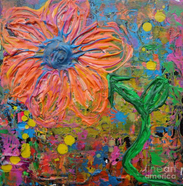 Painting - Flowers 4 by Jacqueline Athmann