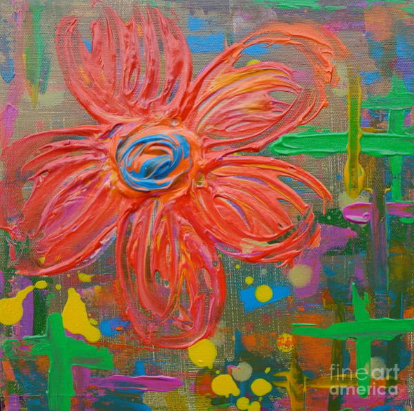 Painting - Flowers 5 by Jacqueline Athmann