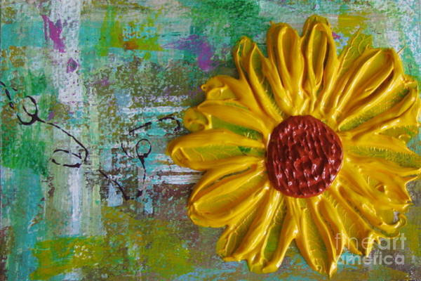 Painting - Flowers 7 by Jacqueline Athmann