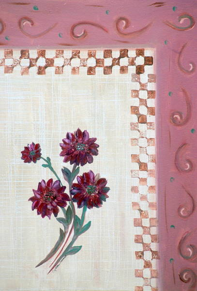 Painting - Flowers by Cynthia Amaral