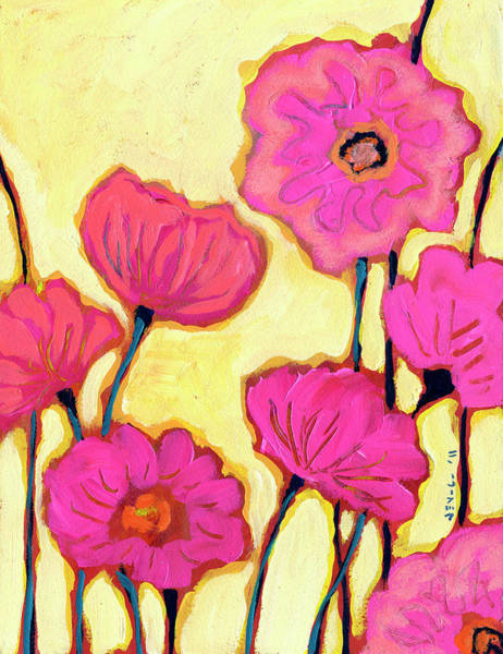 Wall Art - Painting - Flowers For Coralyn by Jennifer Lommers