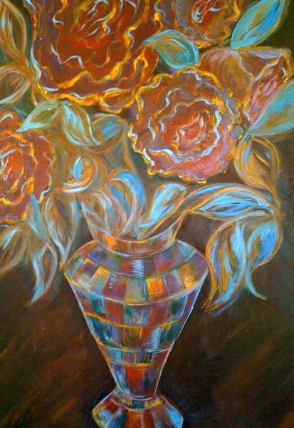 Flowers For Grant Art Print