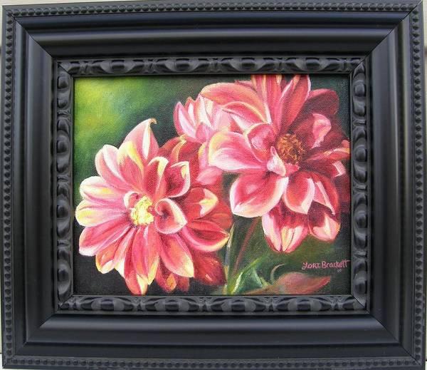 Painting - Flowers For Mom I Framed by Lori Brackett
