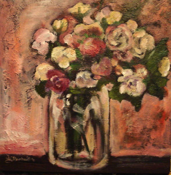 Painting - Flowers For Mom by Jason Reinhardt