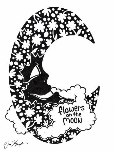 Man In The Moon Art