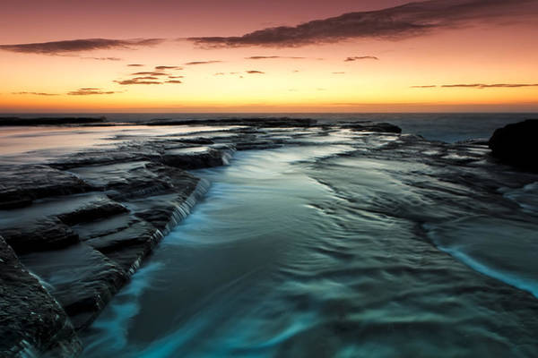 Photograph - Flowing Down by Mark Lucey