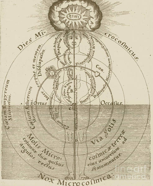 Photograph - Fludd: Harmony, 1619 by Granger
