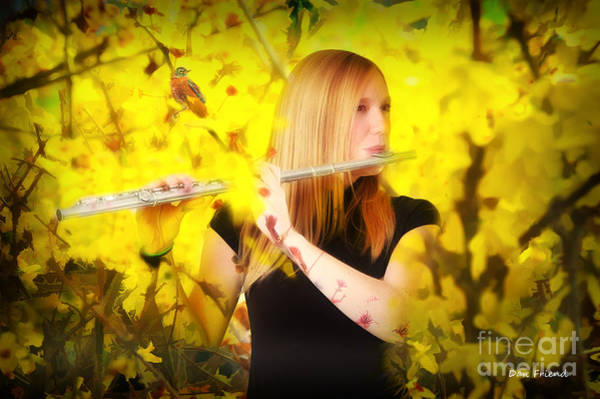 Photograph - Flute And The Sounds Of Spring by Dan Friend