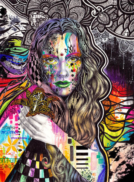 Wall Art - Painting - Flux by Callie Fink