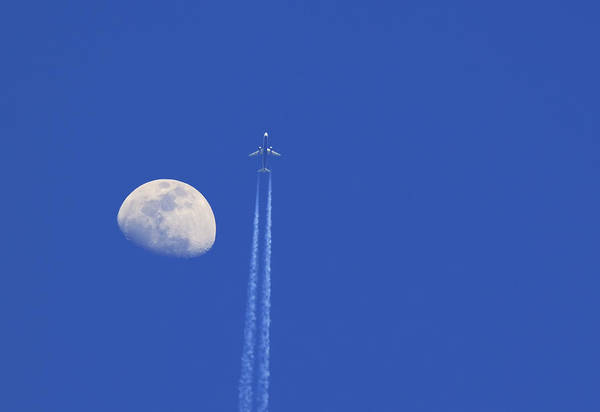 Wall Art - Photograph - Fly Me To The Moon by Ricky Barnard