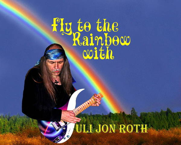 Photograph - Fly To The Rainbow With Uli Jon Roth by Ben Upham