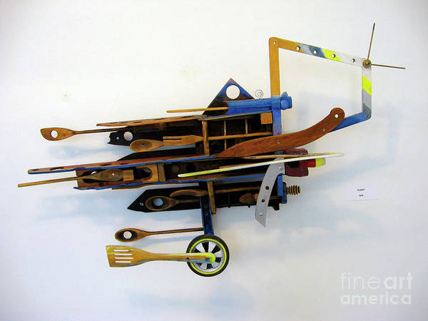 Mixed Media - Flying by Bill Thomson