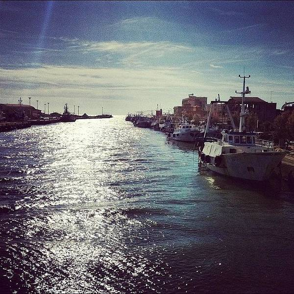 Wall Art - Photograph - Foce Del #tevere #fiumicino #roma by Gianluca Sommella