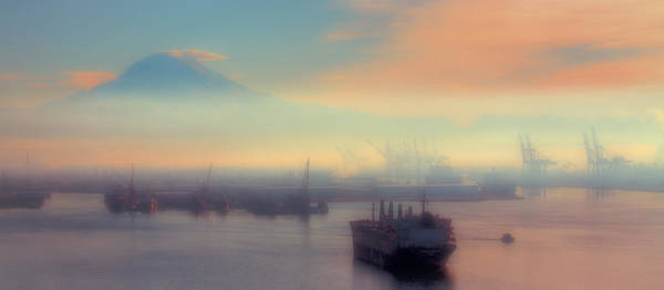 Photograph - Fog Over The Tide Flats by David Patterson