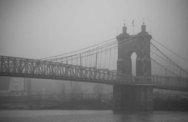Fog Town Art Print