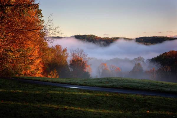 Photograph - Foggy Dawn by Tom Singleton