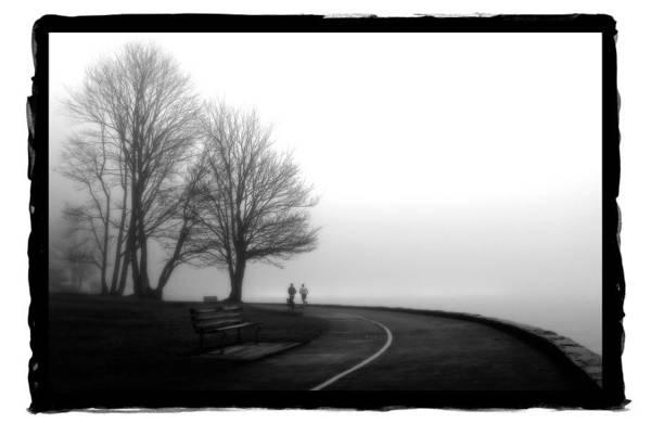 Pyrography - Foggy Day H-2 by Mauro Celotti