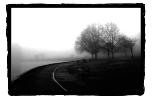 Pyrography - Foggy Day H-3 by Mauro Celotti