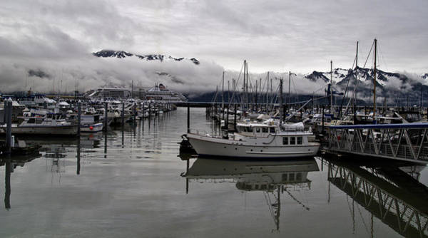 Photograph - Foggy Marina Morning by Wes and Dotty Weber
