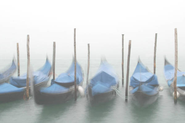 Foggy Morning Grand Canal Art Print