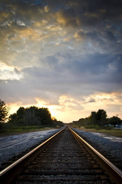 Photograph - Follow The Tracks by Carolyn Marshall