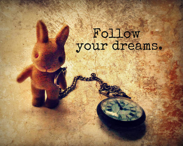 Alice In Wonderland Photograph - Follow Your Dreams by Studio Yuki