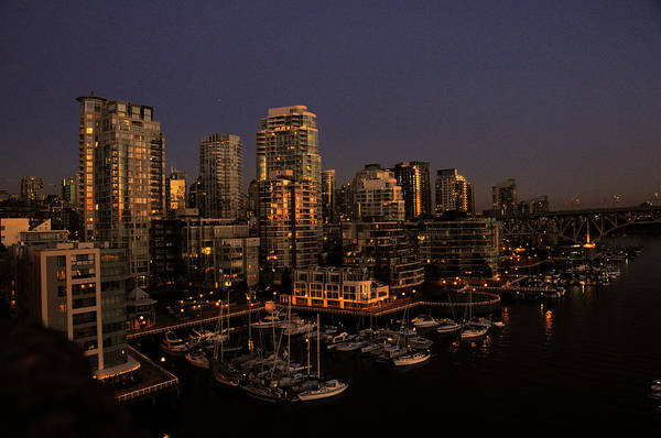 Photograph - Foot Of Howe Street Vancouver Bc by Lawrence Christopher