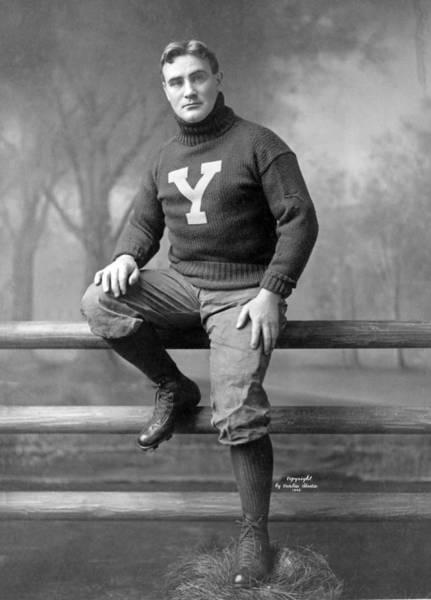Hogan Photograph - Football, Captain James Hogan, Circa by Everett