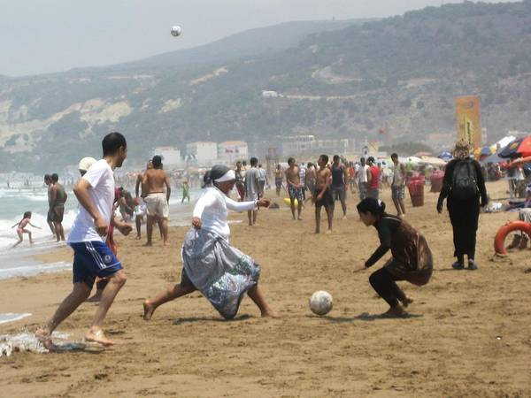 Wall Art - Photograph - Football In Morocco by Gianluca Sommella