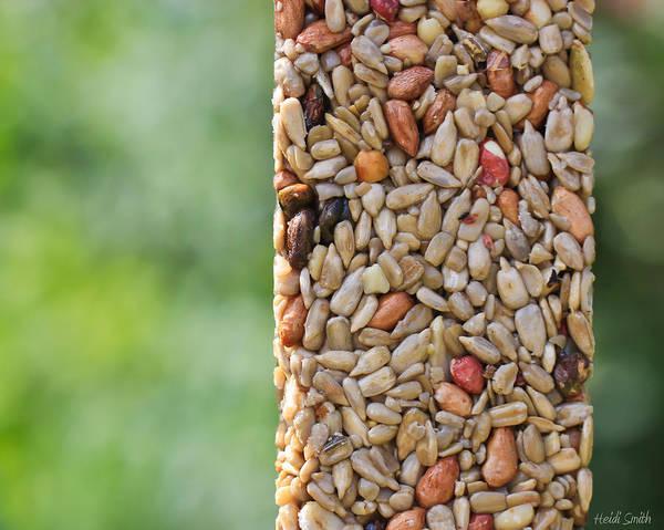 Sunflower Seeds Photograph - For The Birds by Heidi Smith