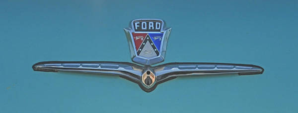 Wall Art - Photograph - Ford Key Slot by Brian Mollenkopf