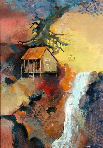 Painting - Forest Bungalow by Gary Partin