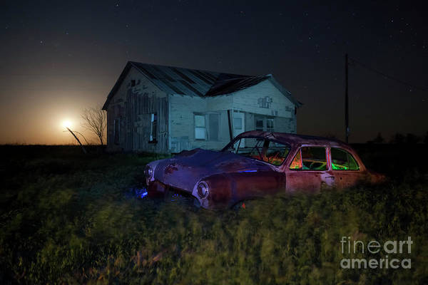 Filling Photograph - Forgotten Texas by Keith Kapple