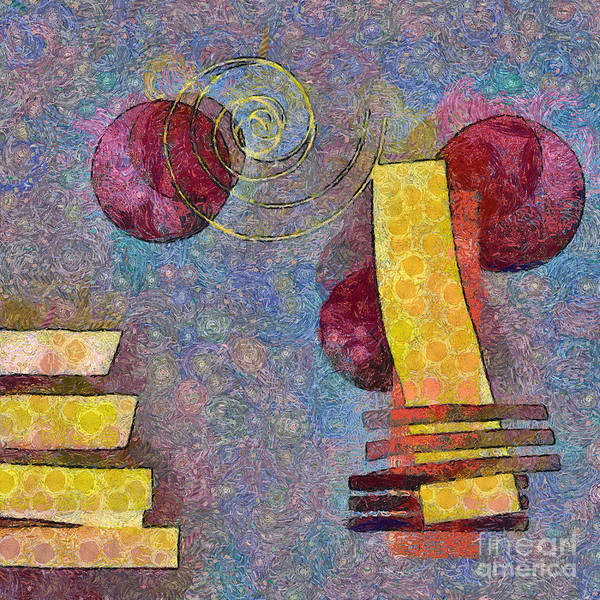 Art Form Digital Art - Formes - 08a by Variance Collections