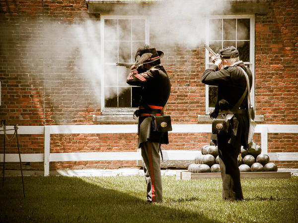 Photograph - Fort Delaware Military by Trish Tritz