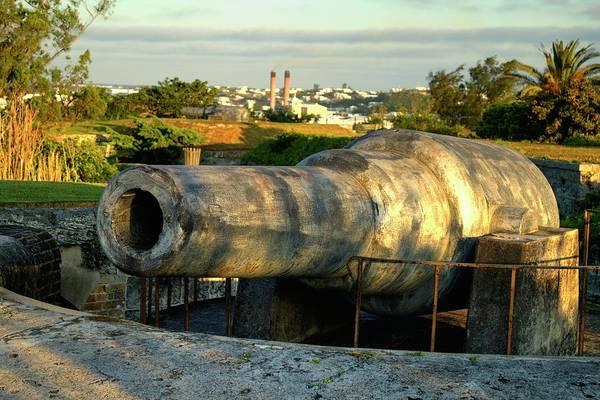 Photograph - Fort Hamilton Cannon by Tom Singleton