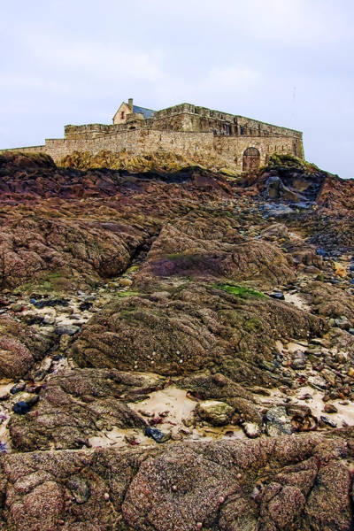 Historic Site Photograph - Fort National In Saint Malo Brittany France by Olivier Le Queinec