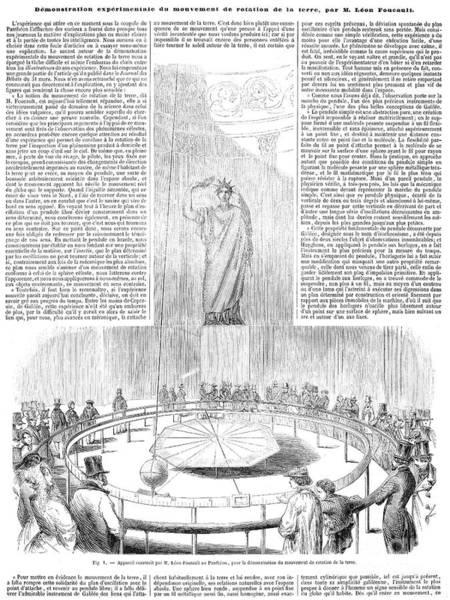 1851 Photograph - Foucaults Pendulum, 1851 by Granger