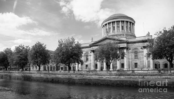 Wall Art - Photograph - Four Courts In Dublin by Gabriela Insuratelu