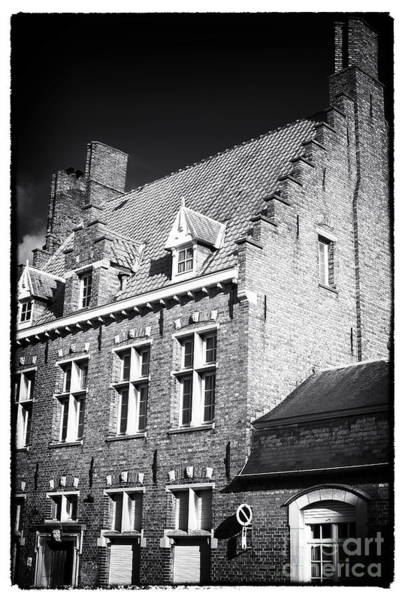 Wall Art - Photograph - Four Windows In Bruges by John Rizzuto