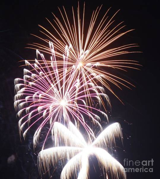 Wall Art - Photograph - Fourth Of July Fireworks by Eric Irion