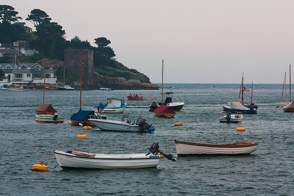 Shirleys Bay Photograph - Fowey Harbour by Shirley Mitchell