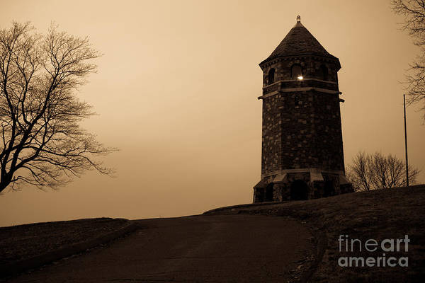 Photograph - Fox Hill Tower by Kyle Lee