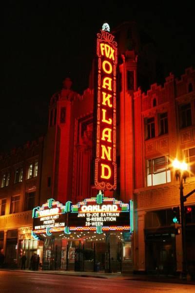 Joe Satriani Photograph - Fox Theater by Marcel Van Gemert