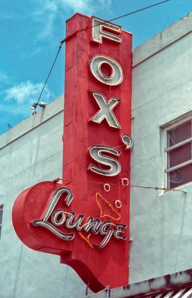 Fox's Lounge Art Print